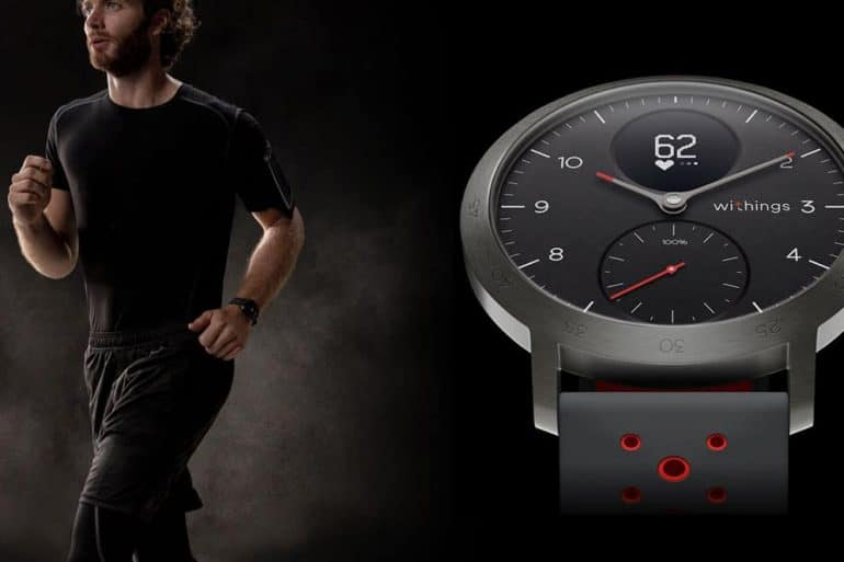 Montre connectée hybride Withings Steel HR Sport