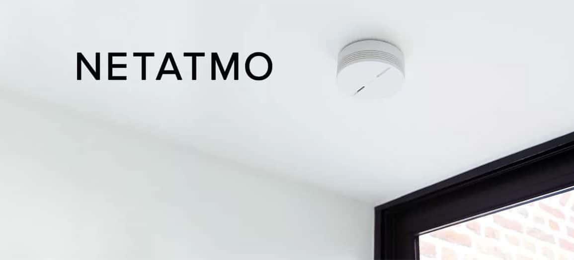 Détecteur de fumée connecté Netatmo