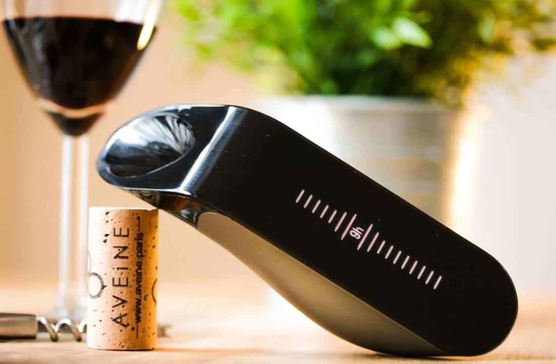 L'aérateur de vin connecté Aveine