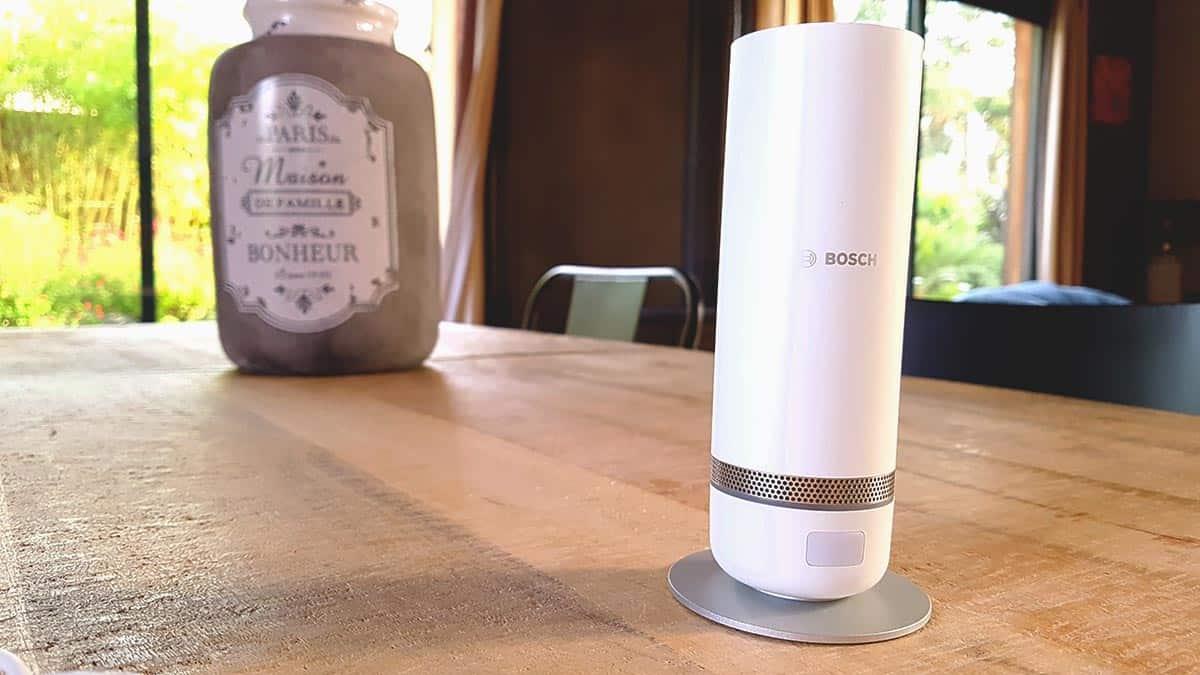Test de la caméra 360° Bosch