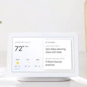 Le Home Hub, l'écran connecté de Google