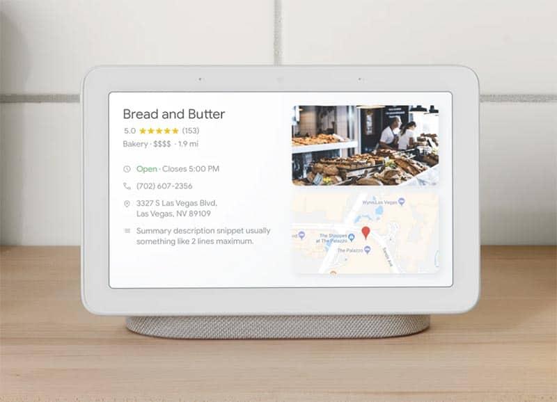 Le Google Home Hub