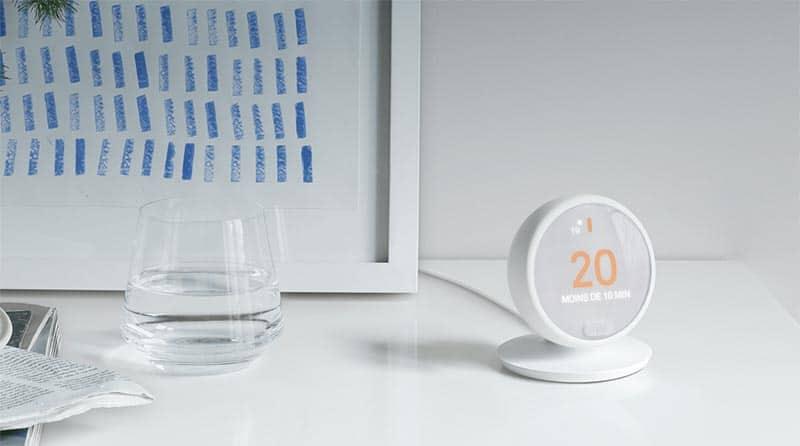 Thermostat E de Nest, moins cher et plus simple