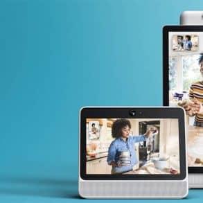 Portal et Portal+, les écrans intelligents de Facebook