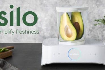 Silo : Dispositif connecté de mise sous vide des aliments
