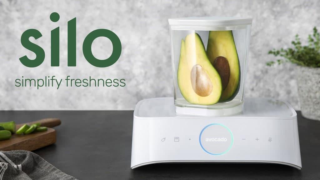l 39 objet connect silo prolonge la dur e de vie de vos aliments. Black Bedroom Furniture Sets. Home Design Ideas
