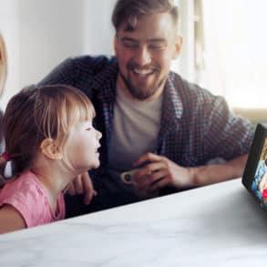 L'écran intelligent LG XBOOM ThinQ WK9