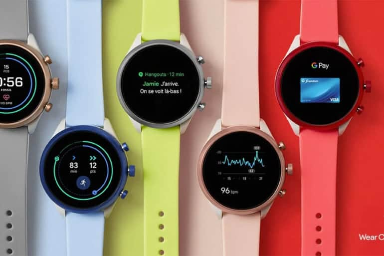 La nouvelle montre connectée Fossil Sport sous OS Wear