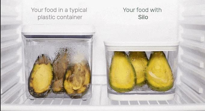 Silo prolonge la vie de vos aliments