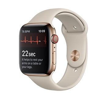 La fonction electrocardiogramme fait son apparition avec la nouvelle mise à jour de WatchOS