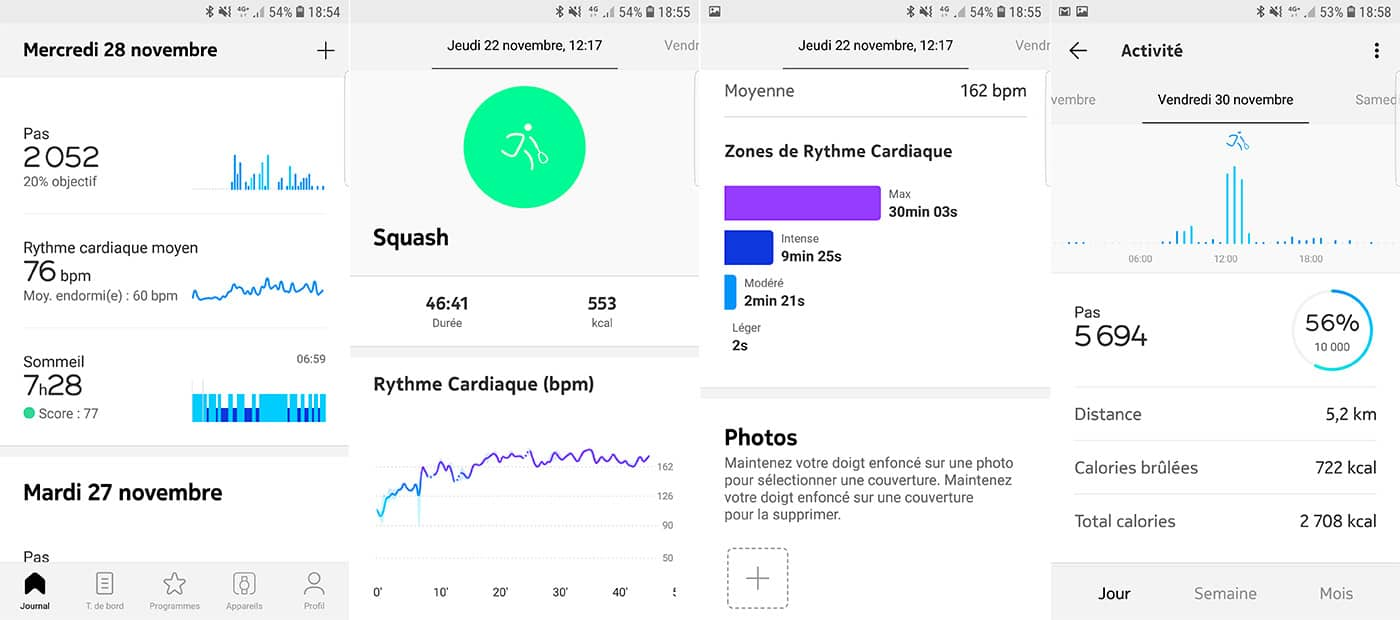 L'application Health Mate