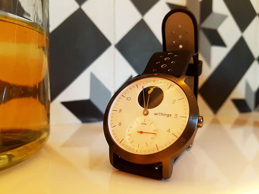 Withings : Montre hybride connectée Steel HR Sport