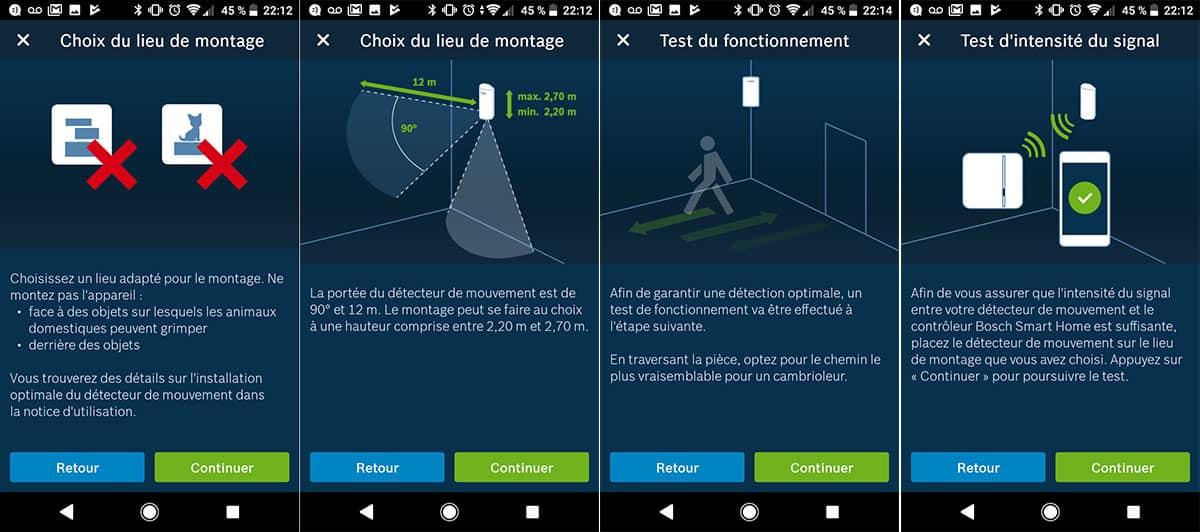 Installation détecteurs pour le kit sécurité Bosch Smart Home