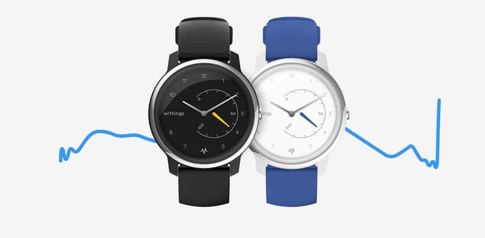 Withings Move ECG : la montre connectée qui réalise des électrocardiogrammes