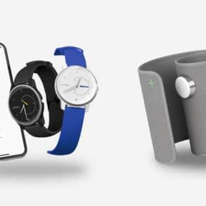 Withings lance deux nouvelles montres connectées et un tensiomètre