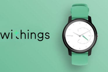 Withings Move, la montre connectée personnalisable fabriquée en France