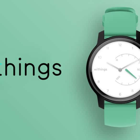 Withings Move, la montre connectée personnalisable fabriquée en France