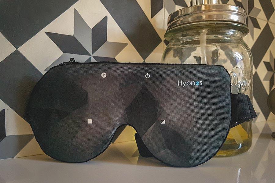 Test du masque d'hypnose connecté Hypnos