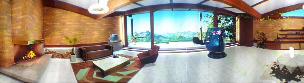 Oculus Home : un appartement accueillant