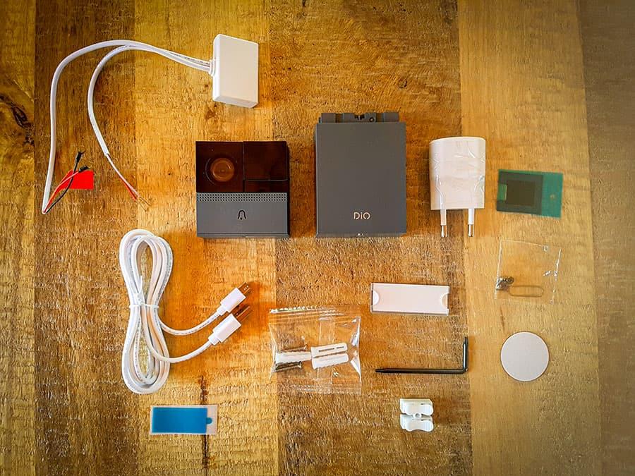 Les accessoires du visiophone DIOCAM+