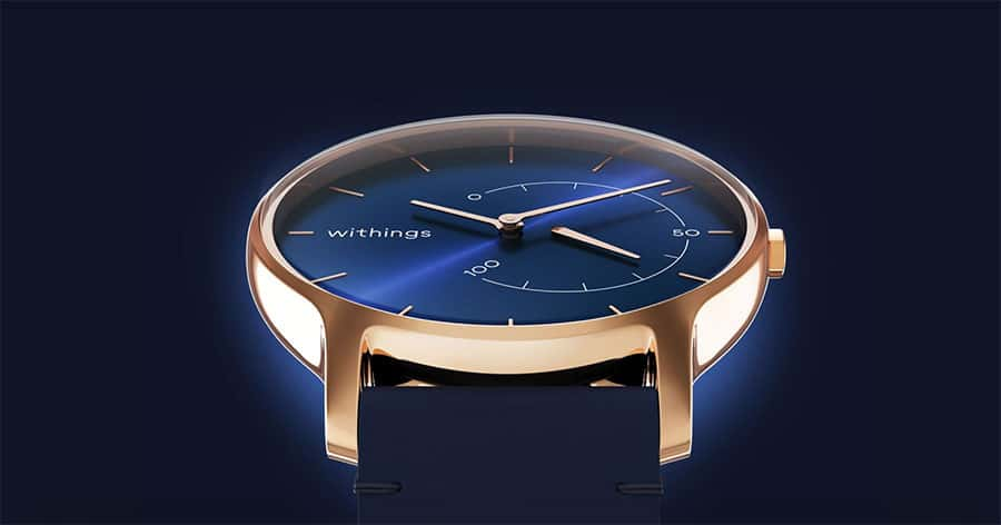 Withings Move Timeless Chic, la montre hybride sans compromis sur le style