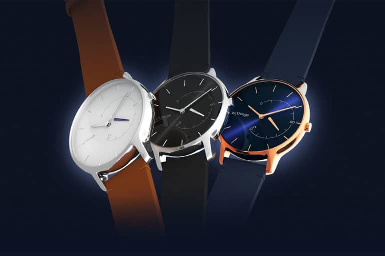 Withings Move Timeless Chic, la montre hybride sans compromis sur le style