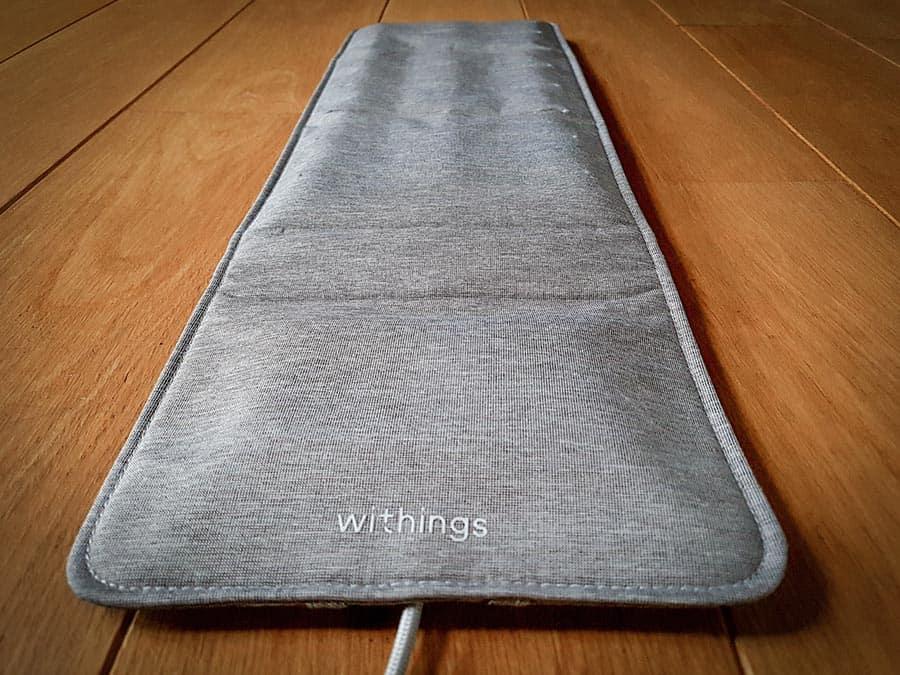Test du capteur de sommeil Withings Sleep