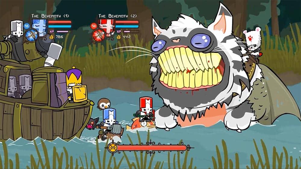 Test du jeu Castle Crashers Remastered réalisé sur Nintendo Switch