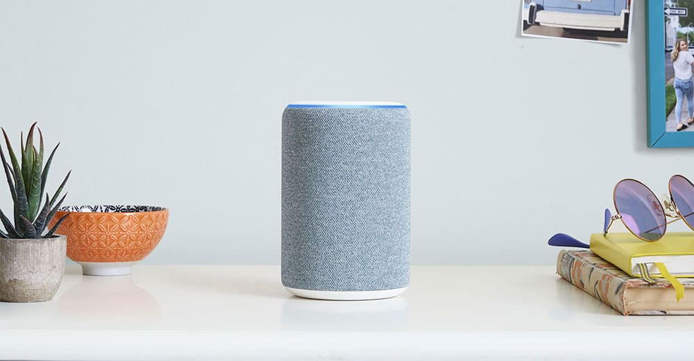 Enceinte connectée Amazon Echo