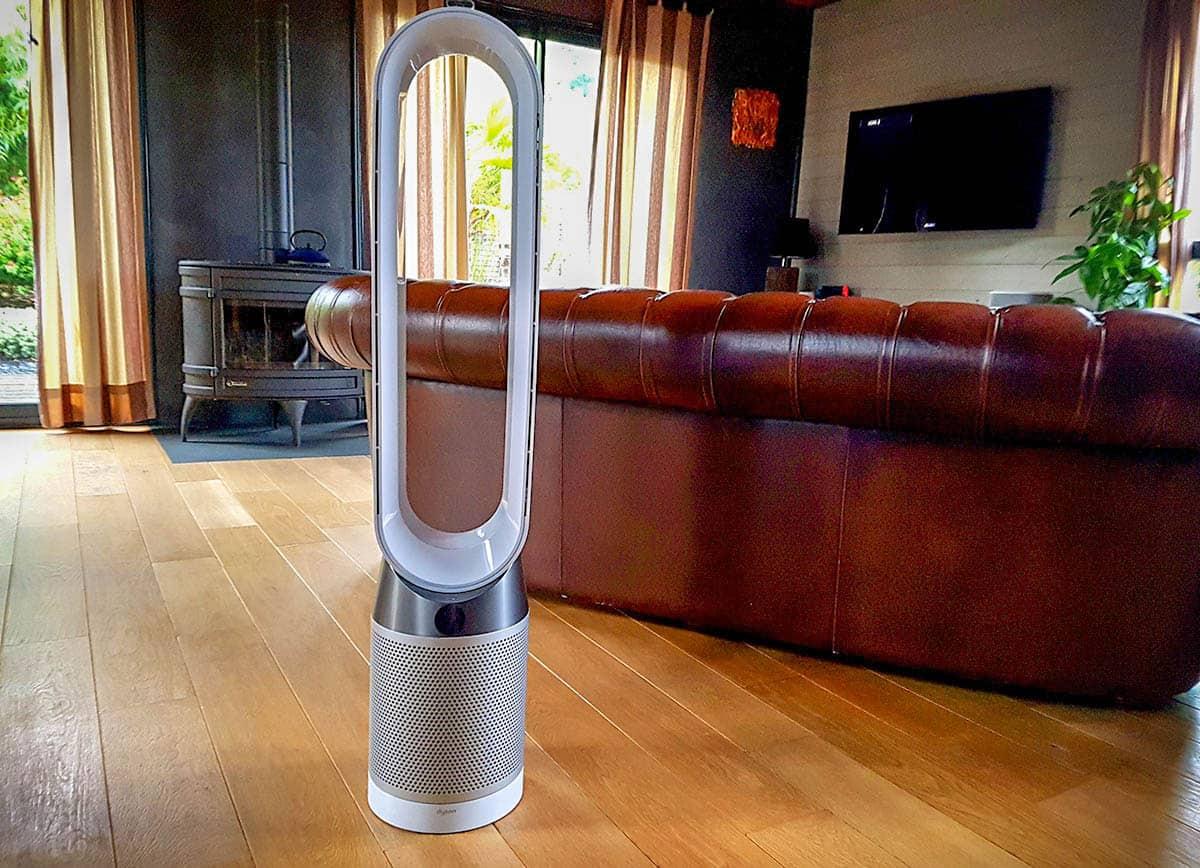 Test du purificateur d'air connecté Dyson Pure Cool Tower