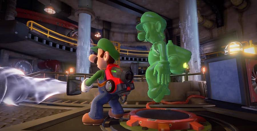 Test de Luigi's Mansion 3 réalisé sur Nintendo Switch
