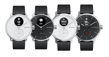 Withings annonce une nouvelle montre e-sante au CES de Las Vegas