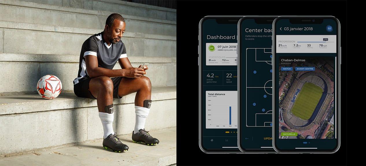 TibTop Connect, le protège-tibia connecté pour tous les footeux