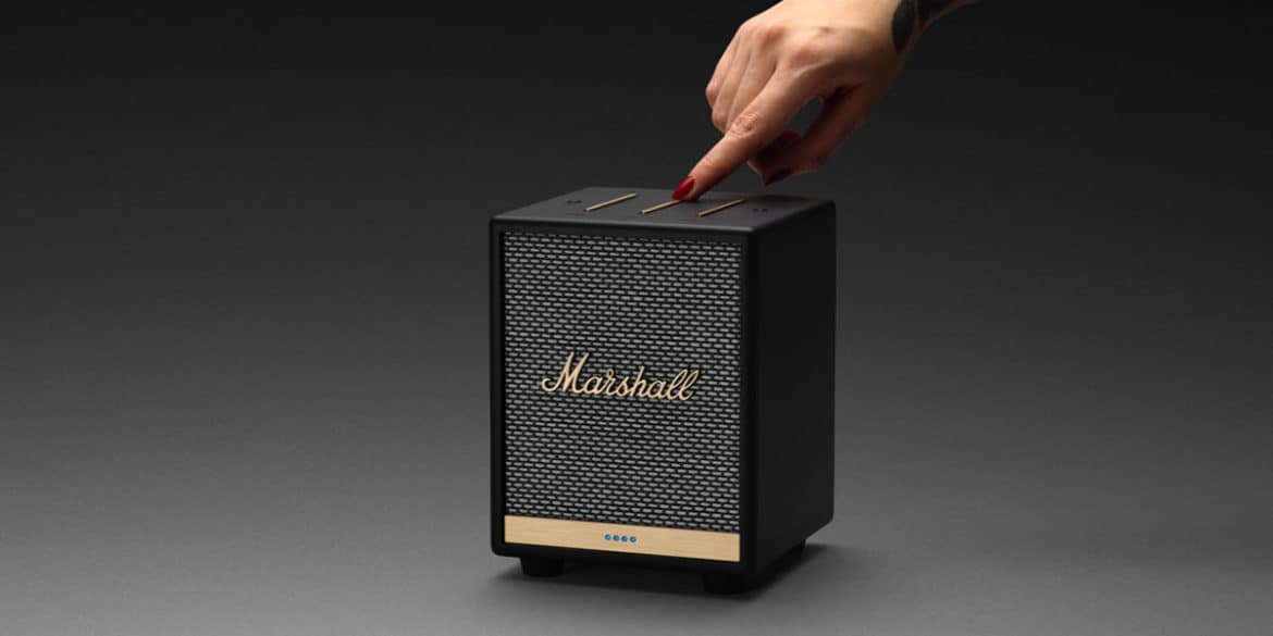 Marshall lance Uxbridge Voice, sa nouvelle enceinte bluetooth