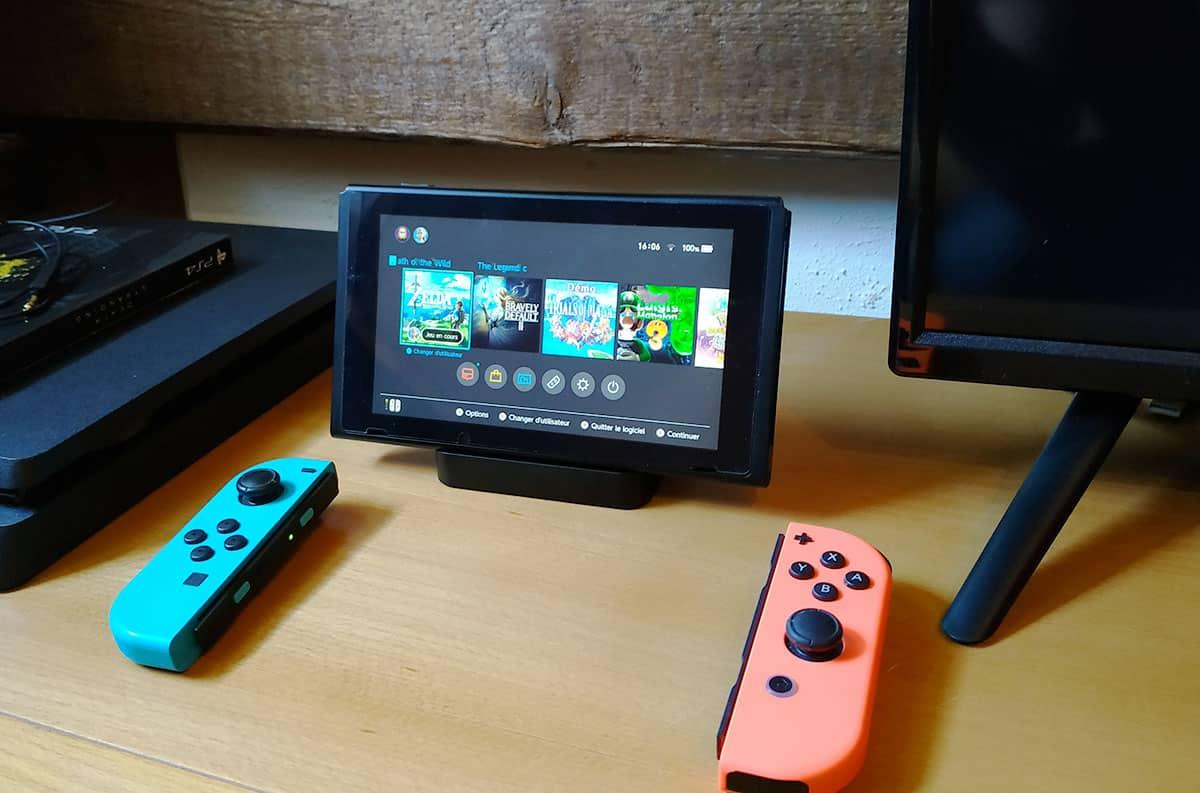 Test du Dock de GuliKit développé pour Nintendo Switch