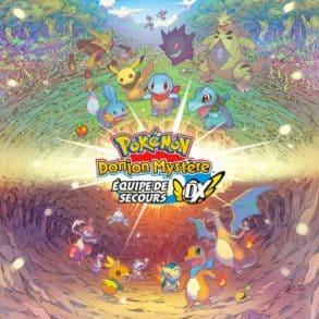 Test du jeu Pokémon Donjon Mystère : Équipe de Secours DX réalisé sous Nintendo Switch