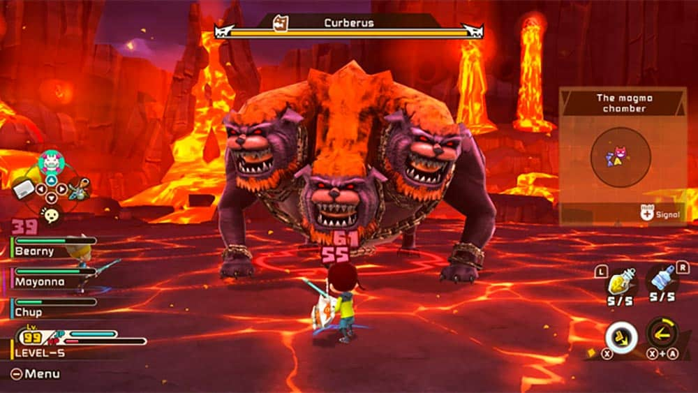 Test du jeu SNACK WORLD: MORDUS DE DONJONS – GOLD réalisé sur la Nintendo Switch