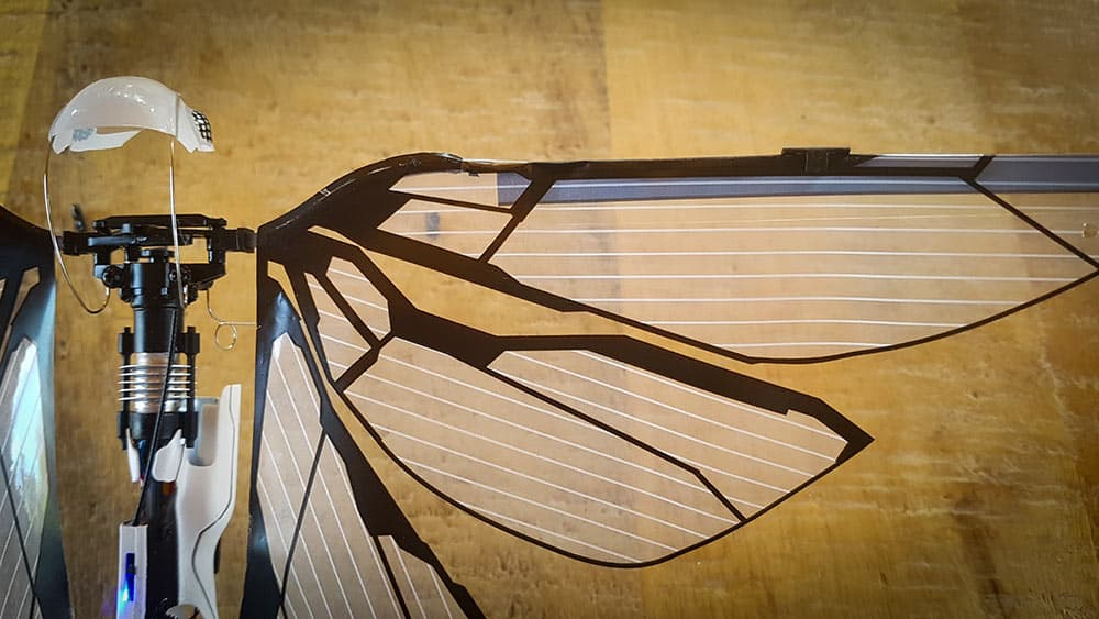 Equilibrage des ailes du MetaFly