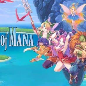 Test du jeu Trials of Mana réalisé sur la playstation 4