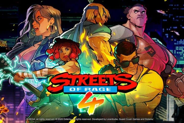 Test du jeu Streets Of Rage 4 réalisé sur la Nintendo Switch