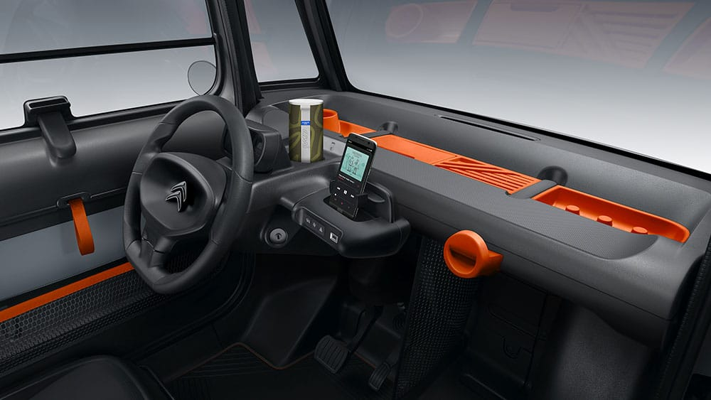 Citroen AMI, la voiture 100% électrique