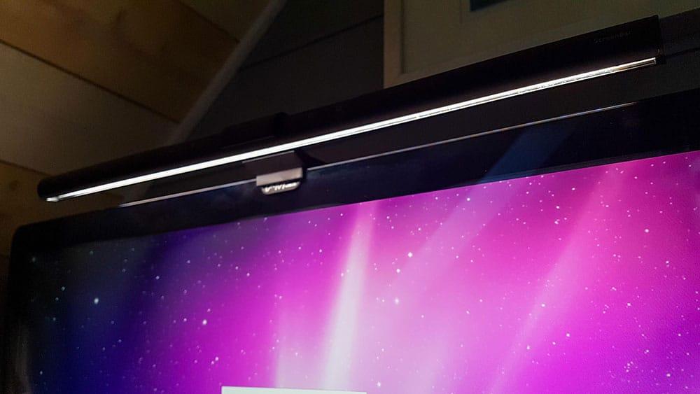 Test de la lampe de bureau LED BenQ ScreenBar e-reading (AR17)