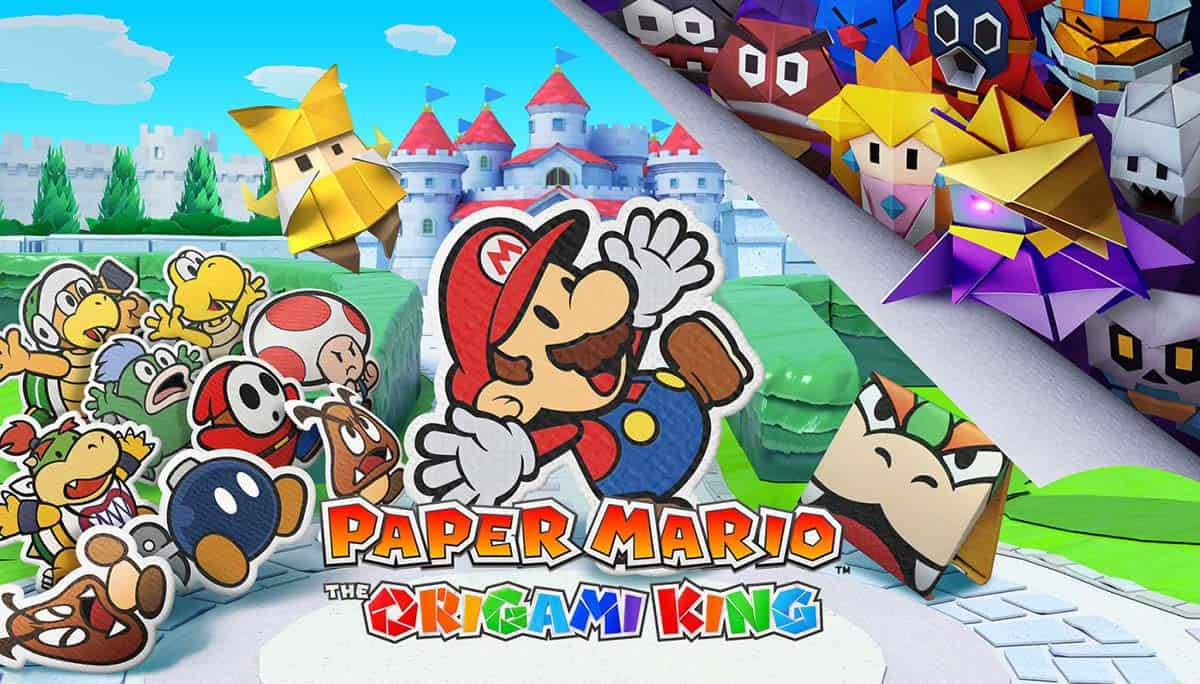 Test de Paper Mario : The Origami King sur Nintendo Switch