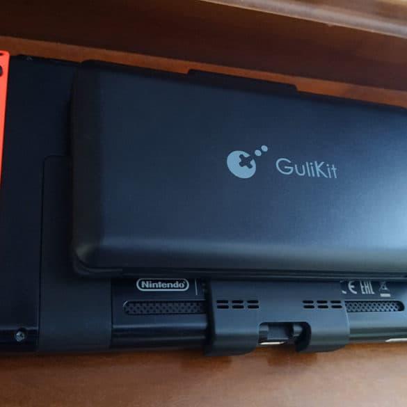 Test de la batterie externe GuliKit Switch PowerPack