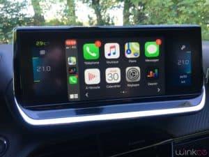 Peugeot e208 - Apple Carplay