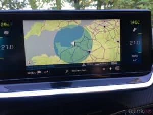 Peugeot e208 - Rayon action autonomie batterie