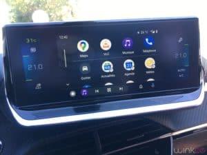 Peugeot e208 - Google Android Auto