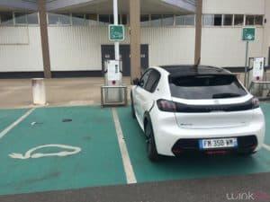 Peugeot e208 - recharge