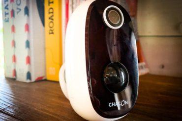 Test de la caméra connectée sur batterie 100% sans fil Chacon IPCAM-BE02