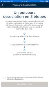 My Peugeot - Description activation